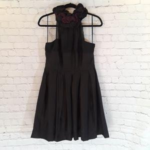 MM Couture black & plum cocktail dress size L